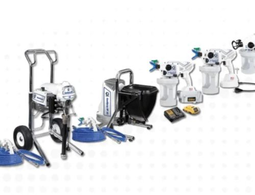 Graco SaniSpray HP for disinfection and deodorization tasks