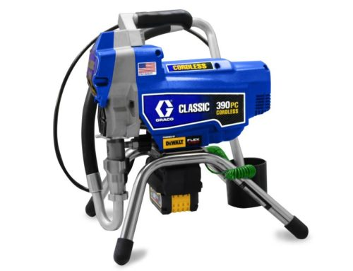 Graco Classic 390 PC Cordless – the airless pump on battery