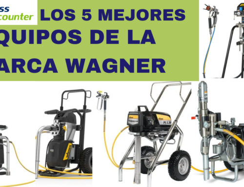 5 mejores equipos airless de Wagner | Airless Discounter