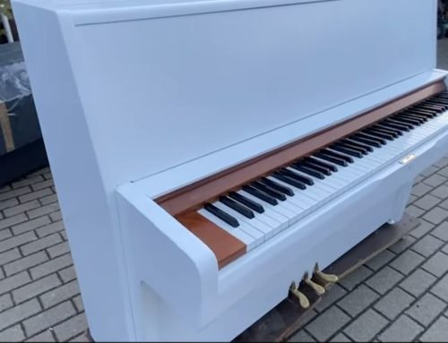 Pintar un piano con airless Wagner SF 23 Plus | Airless Discounter