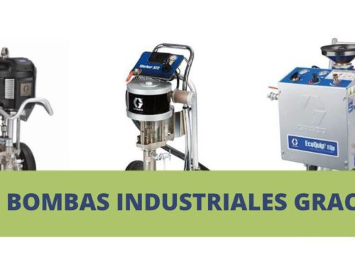 3 Bombas industriales Graco | Airless Discounter