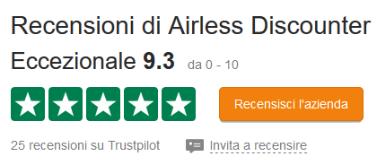 Recensioni Airless Discounter